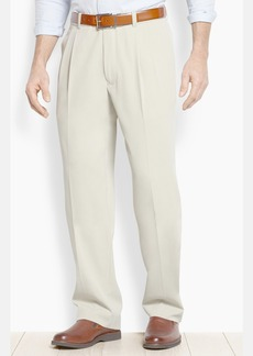 Tommy Bahama 'New St. Thomas' Flat Front Silk & Cotton Pants (Big & Tall)