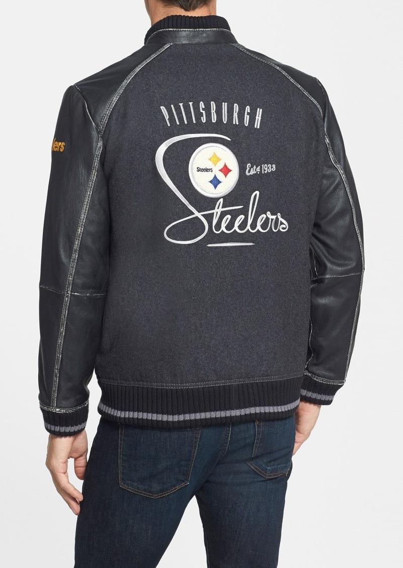 Steelers Leather Jacket