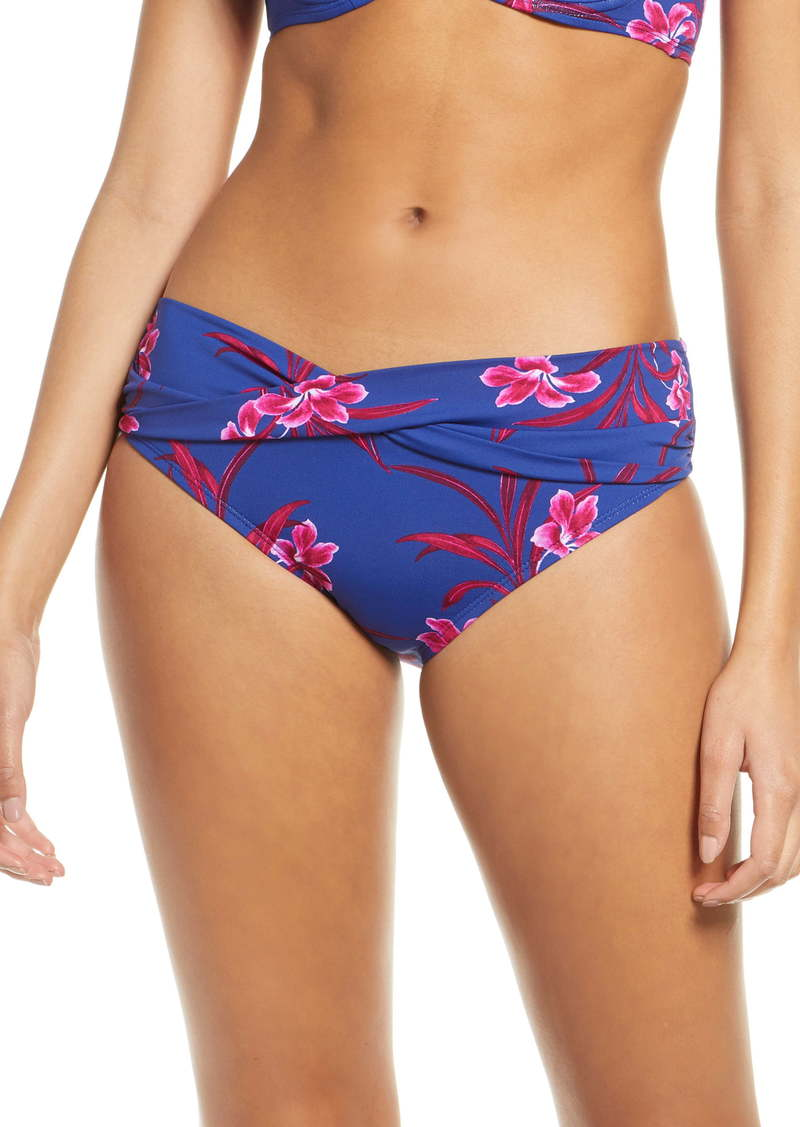 Tommy Bahama Oasis Blossoms High Waist Bikini Bottoms