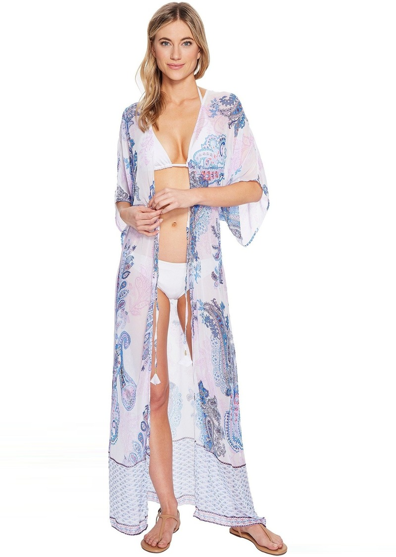 51140771ef Tommy Bahama Tommy Bahama Paisley Leaves Kimono Cover-Up   Swimwear