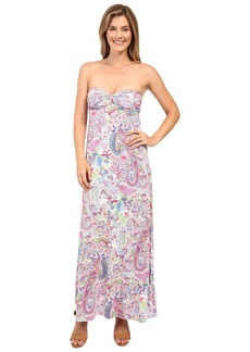 Tommy Bahama Palais Paisley Strapless Dress