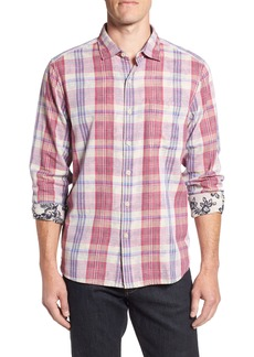 Tommy Bahama Palapa Plaid Sport Shirt