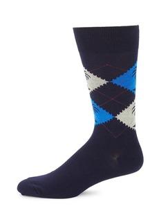 Tommy Bahama Palm Argyle Mid-Calf Socks