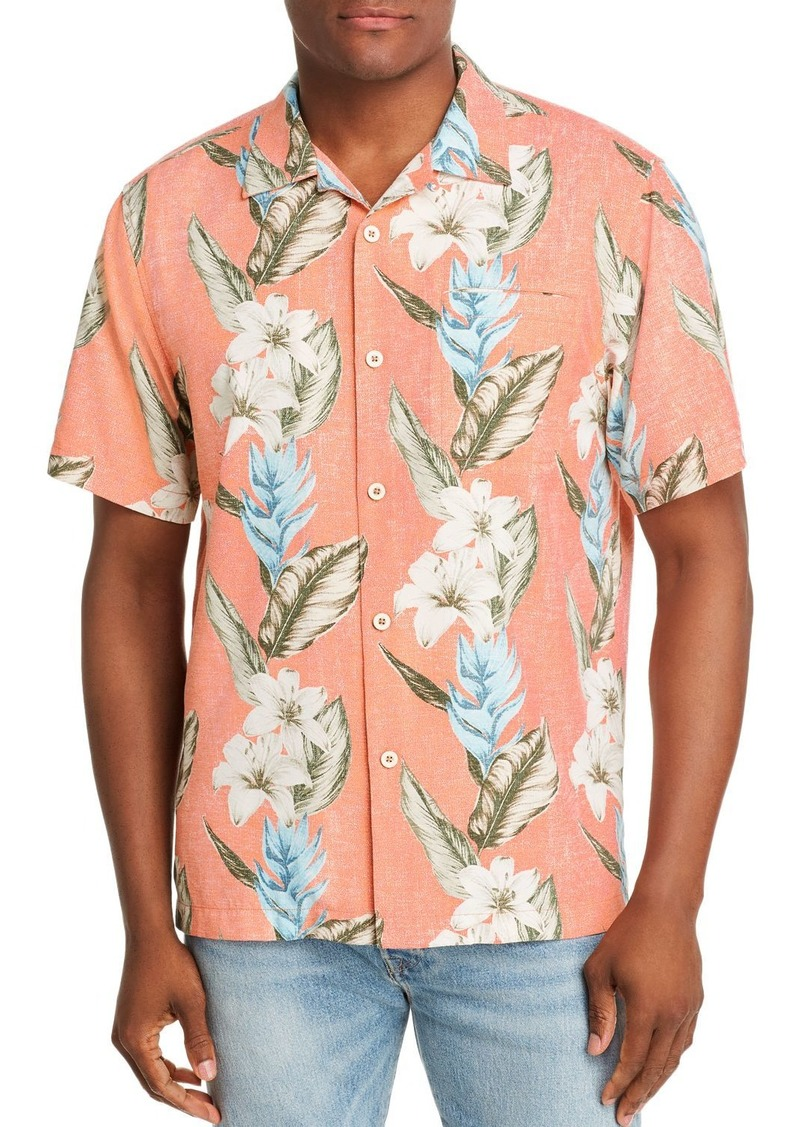 Tommy Bahama Palmdale Vines Short-Sleeve Flora-Print Classic Fit Shirt