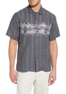 Tommy Bahama Palmetto Grove Linen Blend Sport Shirt