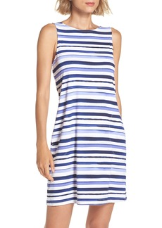 Tommy Bahama Pansey Petals Cover-Up Tank Dress