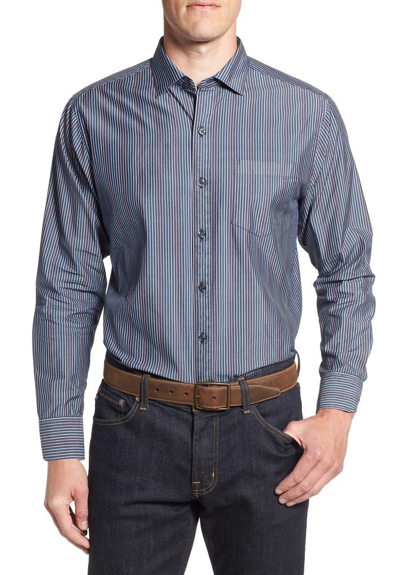 Tommy Bahama Paradiso Prism Stripe Sport Shirt
