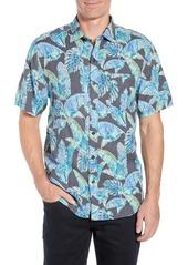 Tommy Bahama Patina Palms Short Sleeve Sport Shirt
