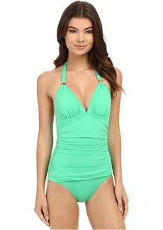 Tommy Bahama Pearl Halter Cup One-Piece
