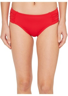 Tommy Bahama Pearl High-Waist Side-Shirred Bikini Bottom