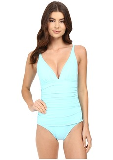 Tommy Bahama Pearl OTS V-Neck Cup One-Piece