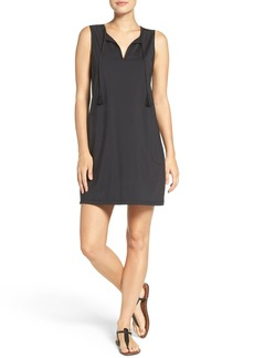 Tommy Bahama 'Pearl' Split Neck Cover-Up Dress