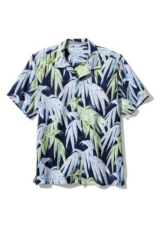 Tommy Bahama Perfect Palm Day Short Sleeve Linen Button-Up Shirt