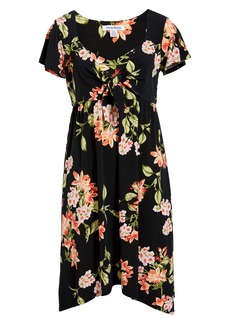 Tommy Bahama Petal of Honor Tie Front Dress