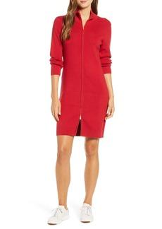 Tommy Bahama Pickford Rib Full Zip Sweater Dress