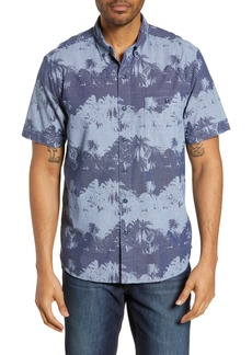 Tommy Bahama Pixel Palms Cotton Sport Shirt