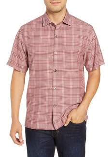 Tommy Bahama Plaid-a-Rica Silk Camp Shirt