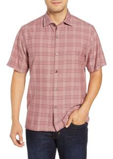 Tommy Bahama Plaid-a-Rica Silk Camp Shirt