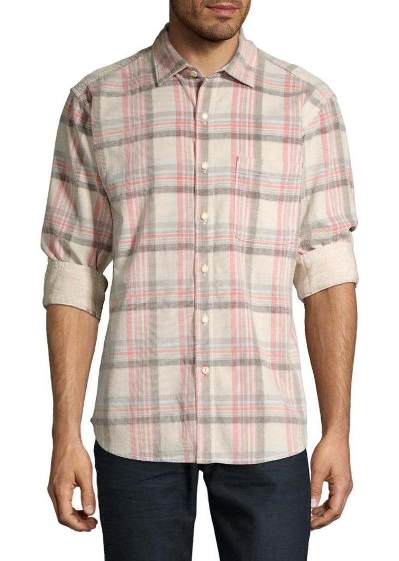 Tommy Bahama Plaid Button-Down Shirt