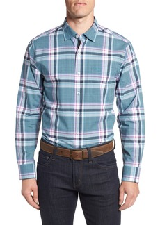 Tommy Bahama Plaid Palma Sport Shirt