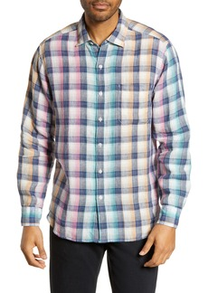 Tommy Bahama Polynesian Plaid Classic Fit Shirt