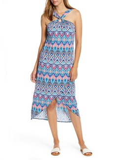 Tommy Bahama Prima Peacock Halter Neck Dress