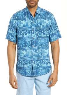 Tommy Bahama Primo Palms Classic Fit Short Sleeve Button-Up Shirt