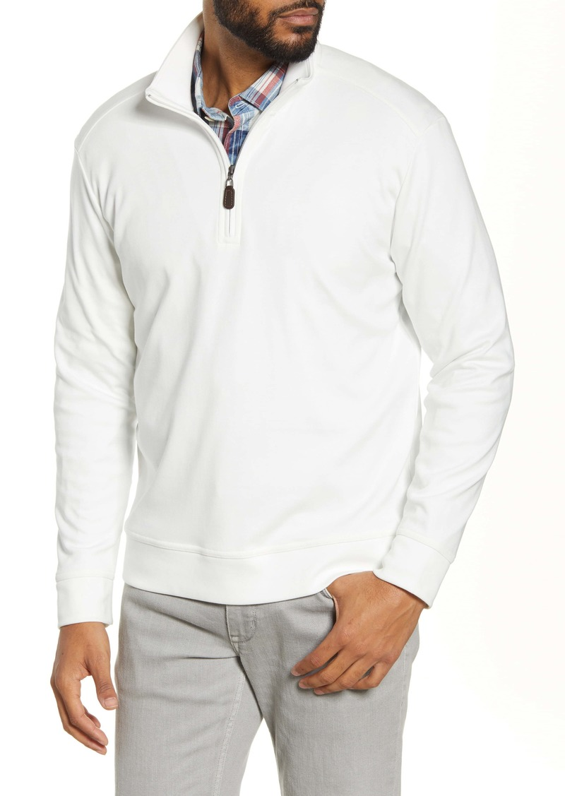Tommy Bahama Quarter Zip Pullover