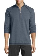 Tommy Bahama Quarter-Zip Stretch-Knit Jacket