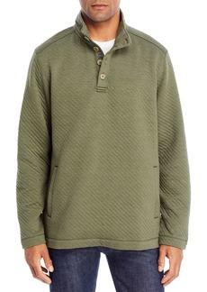 Tommy Bahama Quilted Mock Neck Sweatshirt