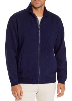 Tommy Bahama Quilted Zip-Front Jacket