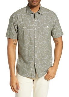 Tommy Bahama Raffia Fronds Cotton Sport Shirt
