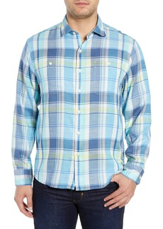 Tommy Bahama Rahi Plaid Sport Shirt