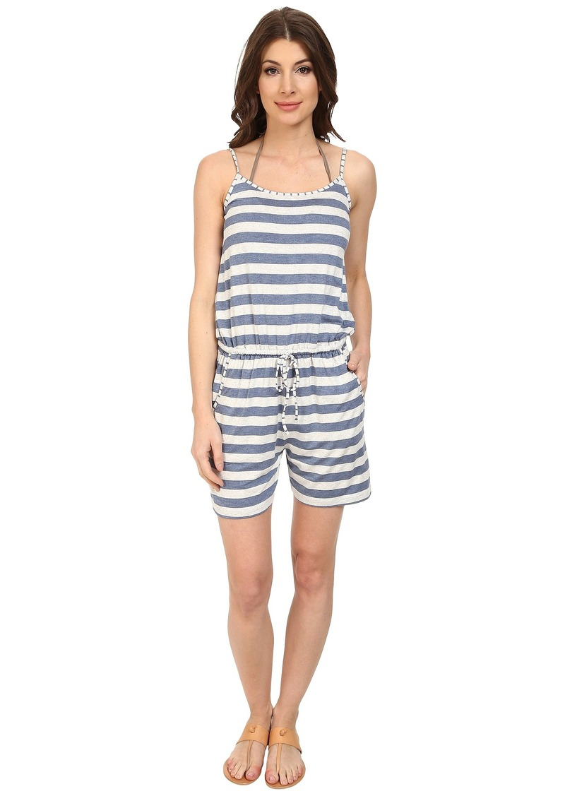 Tommy Bahama Rayon/Spandex Short Romper Cover-Up