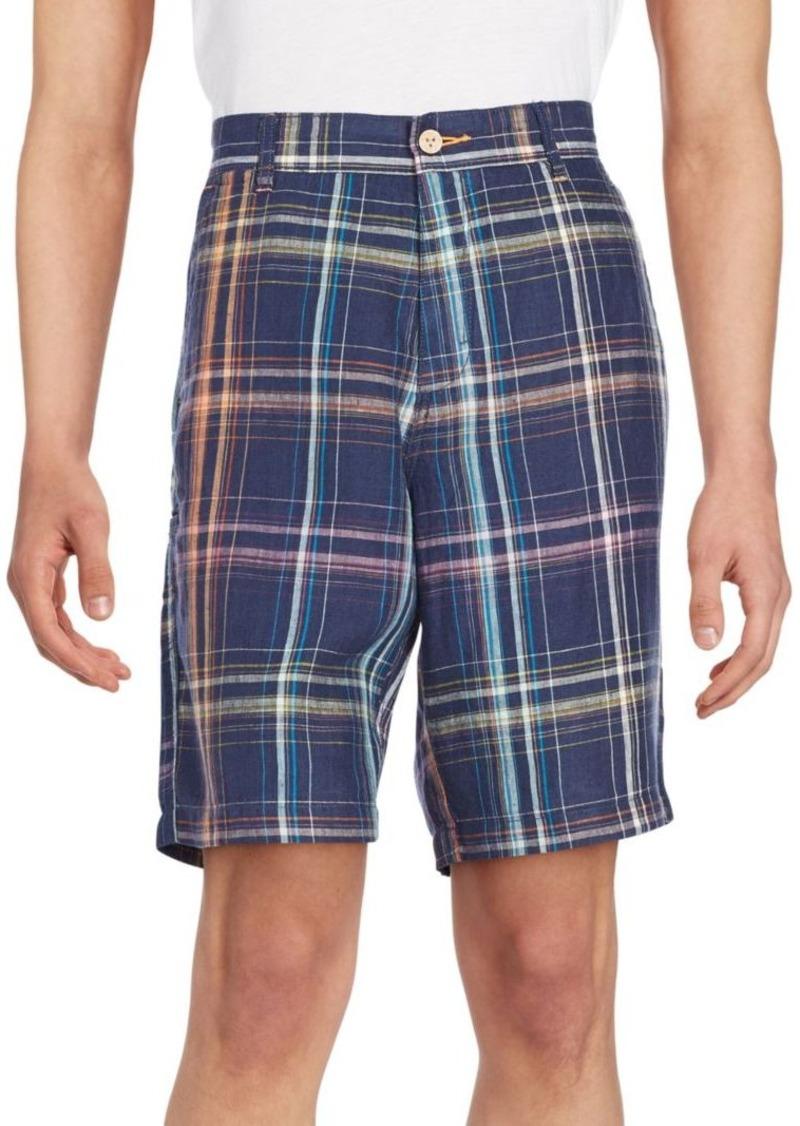 Tommy Bahama RELAX Prism Break Plaid Linen Shorts