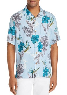Tommy Bahama Rialto Short-Sleeve Floral-Print Classic Fit Silk Camp Shirt