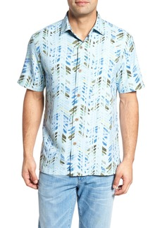Tommy Bahama Right on Tide Silk Blend Camp Shirt