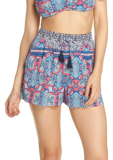 Tommy Bahama Riviera Tiles Cover-Up Shorts