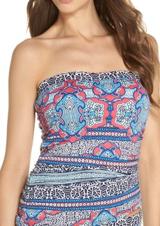 Tommy Bahama Riviera Tiles Strapless Tankini Top