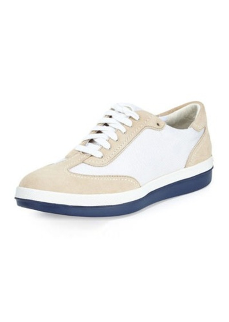 Tommy Bahama Roaderick Suede/Canvas Sneaker
