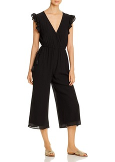 Tommy Bahama Ruffled Cropped Jumpsuit