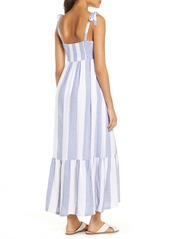 Tommy Bahama Rugby Beach Stripe Cover-Up Maxi Dress
