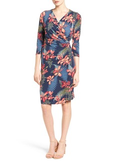 Tommy Bahama Sacred Groves Faux Wrap Dress