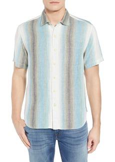 Tommy Bahama Sanchez Stripe Linen Sport Shirt