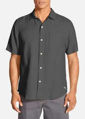 Tommy Bahama 'Sea Glass Breezer' Original Fit Short Sleeve Linen Shirt