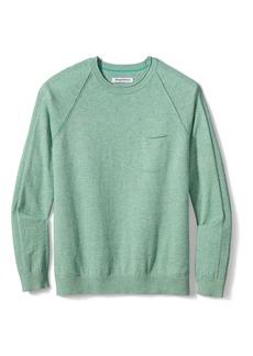 Tommy Bahama Sea Mist Pocket Crewneck Sweater