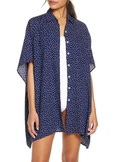Tommy Bahama Sea Swell Cover-Up Tunic Shirt