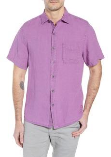 Tommy Bahama Seaspray Breezer Regular Fit Linen Sport Shirt