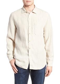 Tommy Bahama Seaspray Breezer Standard Fit Linen Sport Shirt