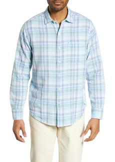 Tommy Bahama Senala Classic Fit Plaid Sport Shirt